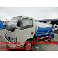 Quality dongfeng 120hp sludge tank truck, vacuum sewage suction truck, septic tank truck for sale for sale