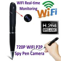 Buy 720P HD WIFI P2P Pen Spy Hidden Camera Covert Video Streaming Recorder Home at wholesale prices