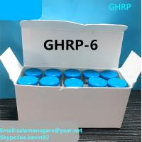 Quality Purity 99% GHRP-6 Peptides 5mg*10vial Bodybuilding Human Growth Hormone For Fat Loss for sale