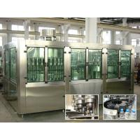 Quality Drinking Pure Water Filling Machines With Rinser 40 / Filler 40 / Capper 10 for sale