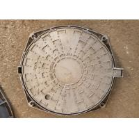 China Stable Performance Metal Manhole Cover Diameter 400mm With Sealing Strips on sale