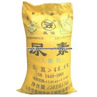 Quality Custom Woven Polypropylene Packing Sacks , Cement or Fertilizer Bags with Printing for sale
