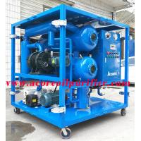 Quality Transformer Oil Vacuum Dehydration Treatment Plant,Oil Purification Systems for sale