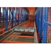 Quality High Density Commercial Shuttle Pallet Racking System for Warehouse Storage Goods for sale