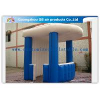 Portable Inflatable Mini Kiosk  Inflatable Trade Show Booth  PVC Coated Tarpaulin for sale