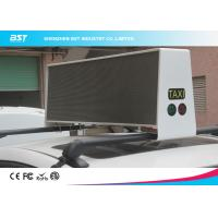 Quality Waterproof SMD 3 In 1 P5 Taxi Roof LED Display 1R1G1B For Commercial Advertising for sale