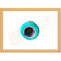 Quality 7 Pin Circular Plastic Push Pull Connector Adapter For Breathing Machine for sale