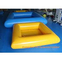 Quality 0.9mm Plato PVC Tarpaulin Inflatable Swimming Pool Water Slides For Kids And Adult for sale