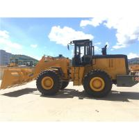 5 tonne wheel loader front end loader with 3000mm dumping hight, 3m3 bucket capacity