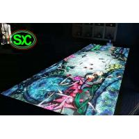 Quality Waterproof P10 Light Weight Led Dance Floor Full Color For Disco / Dj Bar for sale