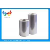 Quality Eco Friendly High Clairty Shrink Film Rolls For Cans Sleeve labels / Heat Activated Shrink Film for sale