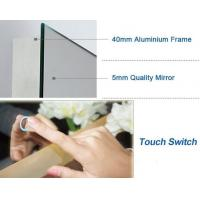 Quality Energy Saving Illuminated Bathroom Mirrors , Wall Mirror With Led Lights for sale