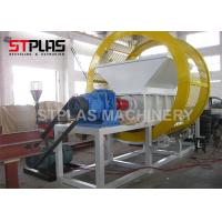 Buy cheap Customizable output Double Shaft Industrial waste tire recycling shredder from wholesalers