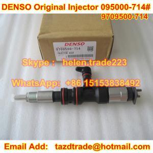 Quality DENSO Original CR Injector 095000-7140 / 095000-714# / 9709500-714 , HYUNDAI 33800-52000 for sale