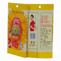 Quality Snack Pouch, Used to Pack Melon Seeds, PET/VMPET/PE Materials, Moisture Proof, Good in Printing  for sale