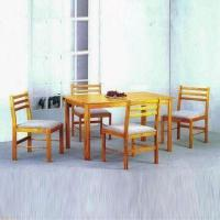 Quality Dining Set, Made of MDF and Veneer for sale