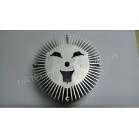 Quality CNC Machining Aluminum Auto Parts Aluminum Heat Sink Round Radiator Sunflower for sale