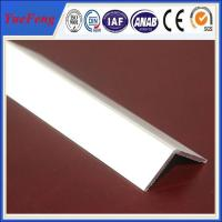 Buy extruded profile aluminium angle for industry using drawings design at wholesale prices