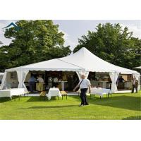 Quality White Mixed Party Marquees Tents With Aluminium Width 20m Outdoor Canopy for sale
