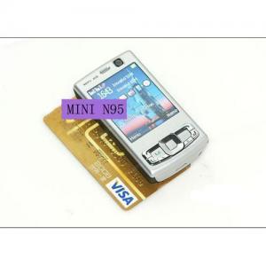 Quality Dual sim dual standby double slide quadband TV mobile phone/cellphone Mini n95 8gb HOT ! for sale