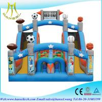 Quality Hansel Inflatable Smiling Obstacle Course, inflatable sliding course, inflatable obstacle for sale