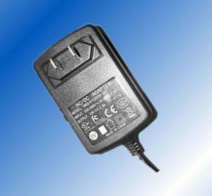Quality US / EU EMC Wall Mount Power Adapter 5V 5A 25W UL / CE / GS / FCC for sale