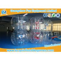 Quality Gaint Inflatable Bubble Ball Bumper Soccer Football With 0.7mm TPU Material for sale