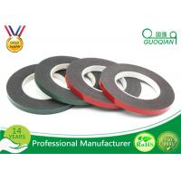 Black PE Foam Coated Double Side Tape With Solvent Acrylic Adhesive 0.8mm / 1mm / 2mm for sale