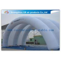 China White Inflatable Arch Tent / Inflatable Tunnel Tent With Oxford Cloth Material for sale