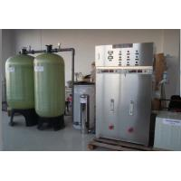 Quality 1000 liters per hour alkalescent water ionizer incoporating with the industrial water treatment system for sale