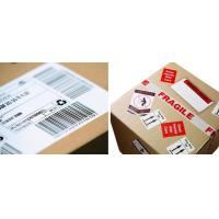 Quality Waterproof Logistic Labels , Custom Self Adhesive Barcode Labels ISO CE for sale
