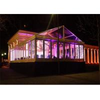 Outdoor Large Party  Event Tents With Water Proof Clear Glass Wall 10m * 20m