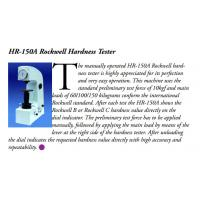 Quality HR-150A Rockwell Hardness Tester ASTM E18 Standard Measuring 20 - 88HRA , 20 - 100HRB for sale