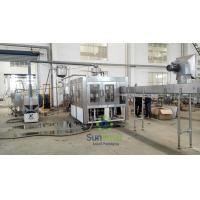 Quality High Speed Stainless Steel  Filling Machine Juice Production Line for sale