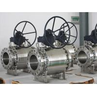 Hard Seal Stainless Steel Ball Valve Floated Spring Loaded Ball Valve for sale