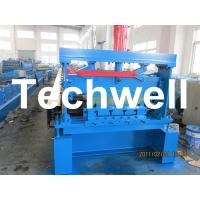 Quality 10 - 12Mpa Hydraulic Pressure Metal Deck Roll Forming Machine for 0.8 - 1.2 mm Thickness for sale