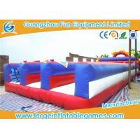 Quality Kids Inflatable Sport Games , Bungee Run Inflatable Rental 3 Lanes Bouncer Games for sale