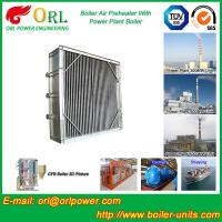 Quality High Temperature Solid Fuel Boiler Steam Air Preheater In Cement Plant for sale