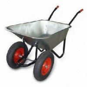 China Double Wheels Wheelbarrow (WB6404HD) on sale