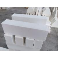 Quality Refractory material AZS refractory brick for glass kiln / fire resistant bricks for sale