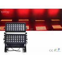 Quality 750w Effect Stage Lighting / Exterior Led Wall Wash Light 3 In 1 Warm White for sale