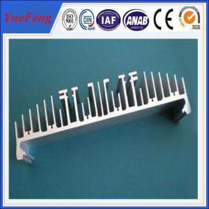 Quality aluminum profiles for heat sink factory, custom extruded aluminium heatsink profile for sale