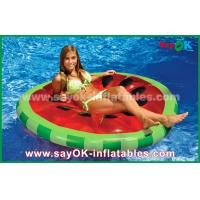 Quality Yellow / Red / Fruit Slice Pool Float Raw Inflatable Pool Toys For Swimming for sale