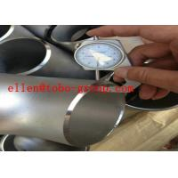 Quality ASTM A815  ASME B16.9 UNS Stainless steel tee UNS S32750 UNSS32760 for sale
