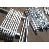 Quality High Precision Industrial Steel Handrails , Outdoor Deck Handrails for sale