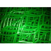 Quality Diamond Shape Plastic Wire Mesh Twill Weave Fine Toughness For Petroleum for sale