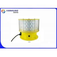 Quality Red / White Medium Intensity Aviation Obstruction Light Type A For Tower Crane for sale