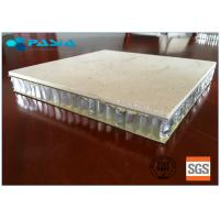 Quality Marble Stone Honeycomb Roof Panels 1200mm Width / Length Sound Insulation for sale