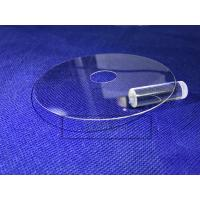China Military Sapphire Glass Window , Optical Window Glass 0.5 - 50 Mm Thickness on sale