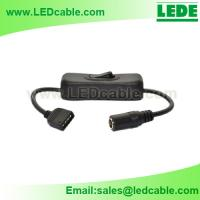 LED Tape Light Cable with On/Off Switch for sale